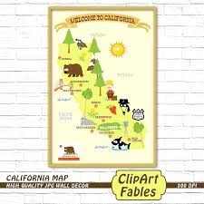 Map Poster State Cute Kids Decor Republic X Of Usa Quiz