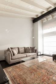 interieur komfortable dachboden moderne möbel wohnzimmer