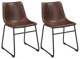 Ashley Furniture Signature Design - Centiar Dining Chairs - Set Of 2 - Mid  Century Modern Style - Black Metal Base - Brown Faux Leather Bucket Seat Kitchen Ding Room Fniture Ashley Homestore 42 Off Macys Chairs Mix Match Mycs Ding Chairs Joelix Best In 2019 Review Guide Amatop10 Rustic Counter Height Table Sets Odium Brown Fascating Modern Clearance Cool Skill Tables Shaker Set Of 4 Espresso Walmartcom Slime Teak Chair Teak Fniture White Pretty Studio Faux Octagon 3 Ways To Increase The Wikihow