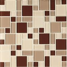 Amazing Tile And Glass Cutter by Instant Mosaic Beige And Brown 12 In X 12 In X 6 Mm Peel And