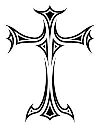 Cross Tattoo By F081a