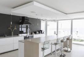 moderne luxus haus vitrine innenküche design hintergrund