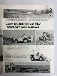 99 Vintage International Harvester Truck Parts 4300 Tractor Sales Brochure In Koleksi