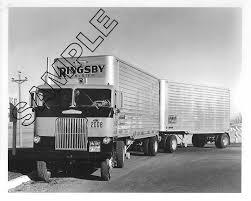 100 White Freightliner Trucks RINGSBY TRUCK LINES 1956 WHITEFREIGHTLINER COE