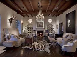 Excellent Rustic Glam Living Room Ideas Woodeb Ceiling White Couches Wooden Rectangle Bench Dark Brown Floor