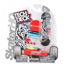 Tech Deck Finger Skateboard Tricks by Tech Deck Finesse White Tiger Series 4 Skater Hq