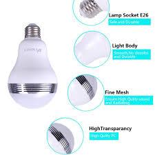 High Ceiling Light Bulb Changer Amazon by Heiokey Bluetooth Speaker Led Light Bulb Smart Led E26 Bulb With
