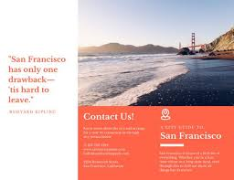 Orange City Guide Travel Brochure