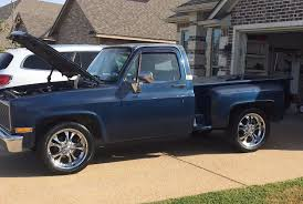 Cool Great 1986 Chevrolet C-10 1986 Classic Blue C-10 Chevrolet Pick ...
