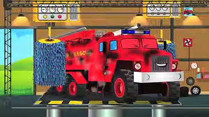 100 Fire Truck Game Car Wash Video For Kids And Toddlers Video Dailymotion