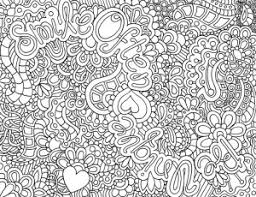 Hard Abstract Coloring Pages For Teenage