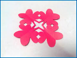 Appealing How To Make Kirigami Paper Cutting Patterns And Templates Pict Of Flower Design Borders For
