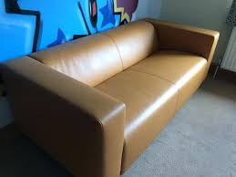 Klippan Sofa Cover 4 Seater by Microfiber And Leather Sofa Ikea Klippan 2 Seater Light Brown Tan
