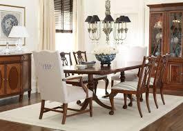 Ethan Allen Mahogany Dining Room Table by Chauncey Side Chair Side Chairs Ethan Allen