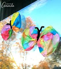 Coffee Filter Crafts For Adults This Classic Butterfly Craft