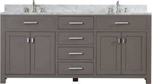 72 Inch Double Sink Bathroom Vanity by Andover Mills Raven 72