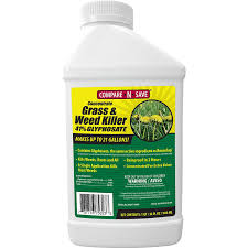 Amazon Compare N Save Concentrate Grass And Weed Killer 41 Percent Glyphosate 32 Ounce Garden Outdoor