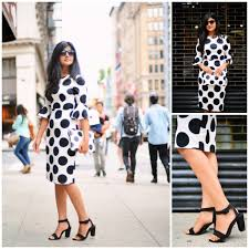 black and white serenade textured spot dress zunera u0026 serena