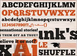 Free Downloadable Alphabetical Fonts Popular With Designers