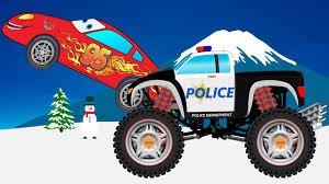 Police Car Monster Truck - Truck Pictures Disney Cars Gifts Scary Lightning Mcqueen And Kristoff Scared By Mater Toys Disneypixar Rs500 12 Diecast Lightning Police Car Monster Truck Pictures Venom And Mcqueen Video For Kids Youtube W Spiderman Angry Birds Gear Up N Go Mcqueen Cars 2 Buildable Toy Pixars Deluxe Ridemakerz Customization Kit 100 Trucks Videos On Jam Sandbox Wiki Fandom Powered Wikia 155 Custom World Grand Prix