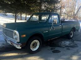 1971 Chevy Pickup 6 Cly Stick Rat Hot Rod Shop Work Classic ...