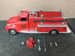 Vintage Tonka Fire Engine Red Fire Truck Station No 5 Pressed Steel ... Vintage Tonka Fire Engine Firefighting Water Pumper Truck Red And Spartans Walmartcom Pin By Phil Gibbs On Trucks Pinterest Fire Truck Mighty Motorized Vehicle Kidzcorner Tonka Fire Rescue Truck 328 Model 05786 In Bristol Gumtree Find More Big For Sale At Up To 1960s Tonka My Antique Toy Collection Rescue E2 Ebay Tough Mothers Steel Review Sparkles Diecast