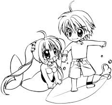 Coloring Page Mermaid Melody Pichi Pitch Cartoons 17