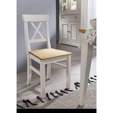 stuhl wz 0133 weiß eichenfarbig kiefer massiv küchenstuhl esszimmer