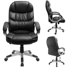 Furmax High Back Office Chair, Executive Desk Chair With Padded Armrests,  Swivel Task Chair With Lumbar Support(Black) Replica Charles Ray Eames Pu Leather High Back Executive Office Chair Black Stanton Mulfunction By Bush Business Fniture Merax Ergonomic Gaming Adjustable Swivel Grey Sally Chairs Guide How To Buy A Desk Top 10 Soft Pad Annaghmore Fduk Best Price Guarantee We Will Beat Our Competitors Give Our Sales Team A Call On 0116 235 77 86 And We Wake Forest Enthusiast Songmics With Durable Stable Height Obg22buk Rockford Style Premium Brushed Alinium Frame