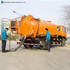 100 Sewer Truck Toilet Vacuum Cesspit Emptier Cesspit Emptier