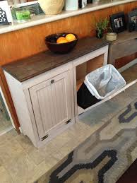 Custom Wood Trash Bin By MiddleOJune On Etsy GOTTA HAVE This SOOO Perfect