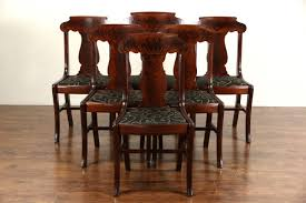 Antique Dining Chairs – Home Design Tiger Oak Fniture Antique 1900 S Tiger Oak Round Pedestal With Ding Chairs French Gothic Set 6 Wood Leather 4 Victorian Pressed Spindle Back Circa Room 1900s For Sale At Pamono Antique Ding Chairs Of Eight Chippendale Style Mahogany 10 Arts Crafts Seats C1900 Glagow Antiques Atlas Edwardian Queen Anne Revival Table 8 Early Sets 001940s Extendable With Ball Claw Feet Idenfication Guide