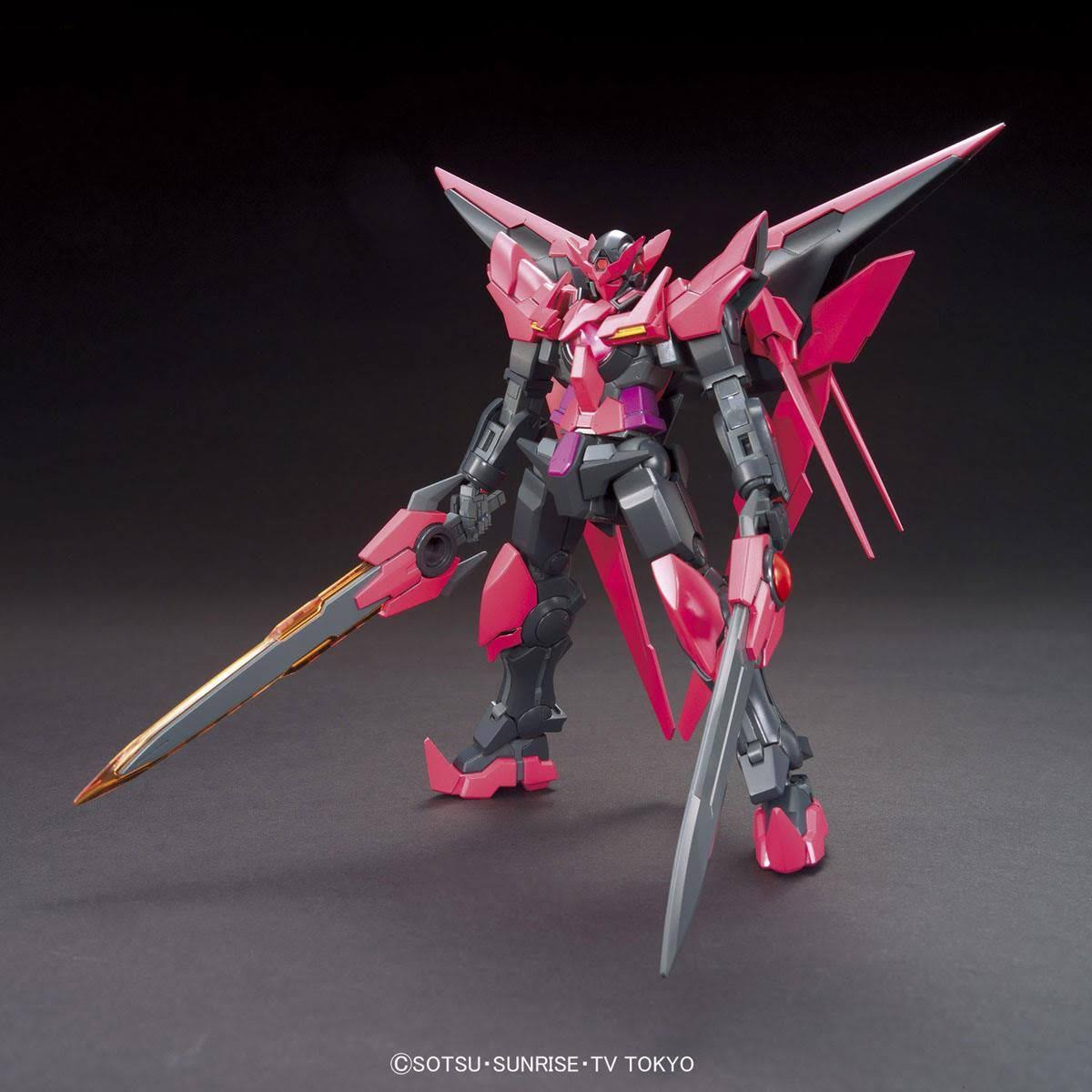 Bandai HGBF Gundam Exia Dark Matter HG Model Kit - 1/144 Scale