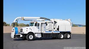 100 Sewer Truck 2004 Peterbilt VacCon V309LHA Combo YouTube