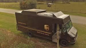 UPS Now Launching Delivery Drones From Its Brown Vans - The Drive