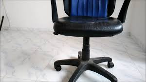 Chromcraft Chair Cushion Replacements by Office Chair Wheel Replacement Youtube