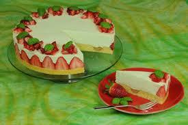erdbeer basilikum torte