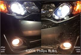 4300k vs 5000k hid color temperature comparison bmw luxury