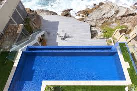 Pool Waterline Tiles Sydney by Prestigious Tropical Oasis Tranquillity Sunset Pools Sydney
