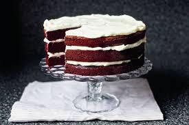wine velvet cake with mascarpone