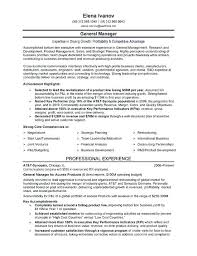 Sample Resume For Sales Manager In Telecom Also Retail Sales