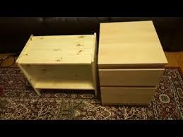 Ikea Kullen Dresser Assembly by Ikea Rast Nightstand Versus Kullen Chest Youtube