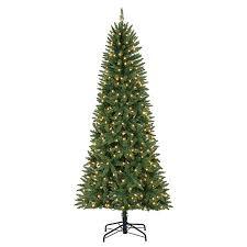 Artificial Christmas Tree Stand Walmart by Evergreen Classics 7 U0027 Brighton Pre Lit Led Artificial Fir