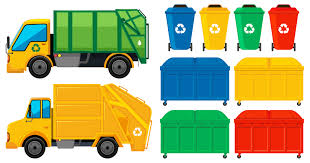100 Rubbish Truck Trucks And Cans In Many Colors Download Free Vector Art