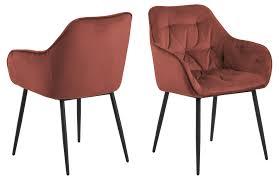 2x bruks esszimmerstuhl armlehne rot stuhl set esszimmer stühle küchenstuhl