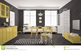 100 Minimalist Contemporary Interior Design Modern Kitchen With Dining Table And Living Room White
