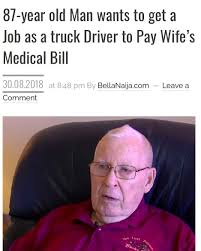 100 Looking For Truck Drivers This 87year Old Man Is Looking To Hit The Road As A Truck Driver