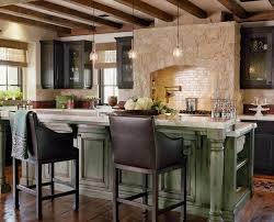 Marvelous Rustic Kitchen Island Decorating Ideas Gallery In Mediterranean Design