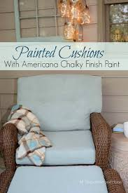Americana Decor Chalky Finish Paint Colors by Painting Cushions With Chalky Finish Paint All Things Heart And