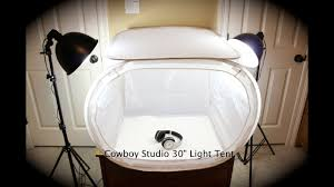 100 Studio Tent Cowboy 30 Light Unboxing And Review